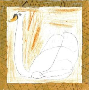 Paper Zoo - Swan by Robert Dingwall